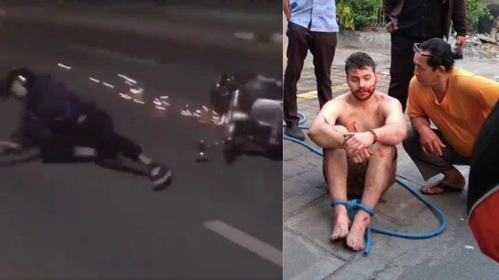 Australian Tourist Arrested in Bali After Fly-Kicking a Guy off a Moving Scooter