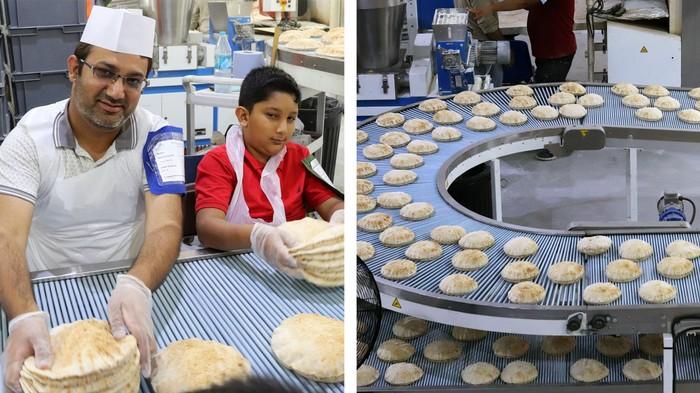 Inside the Huge Roti-Making Operation at 'Muslim Glastonbury'