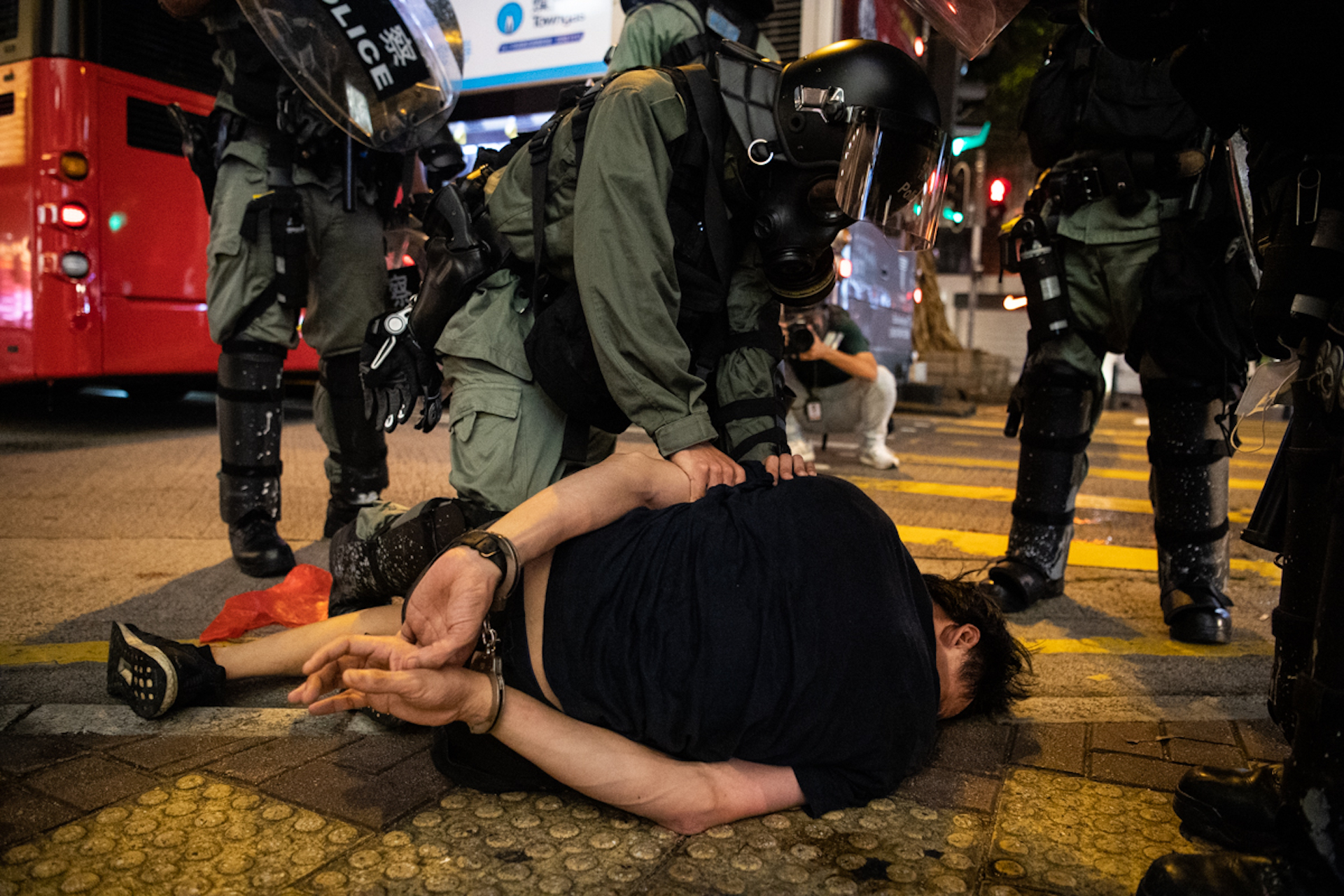 "Hong Kong Police Are Using Brutal Tactics Against Protesters: ""We are so angry"""