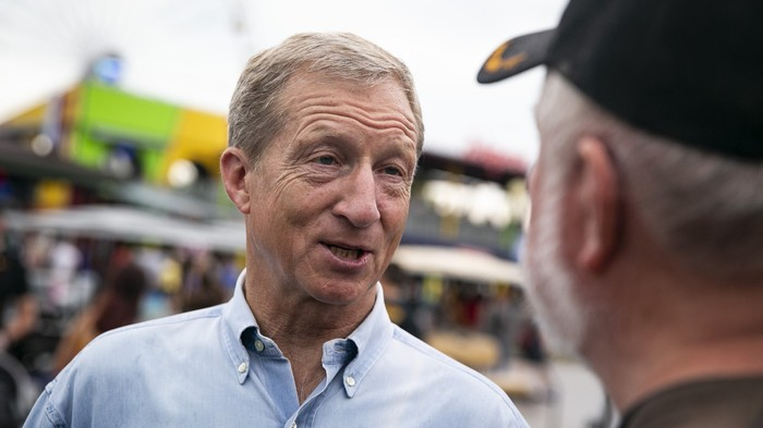 Tom Steyer's Facebook Money Bomb Worked — the Billionaire Is About to Qualify for the Democratic Debates