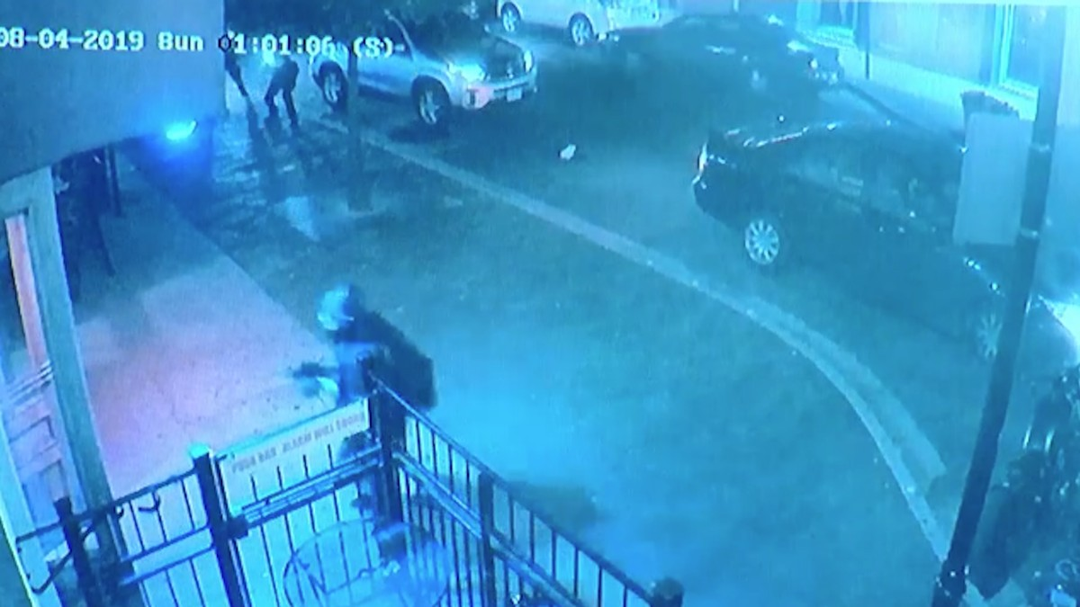 Surveillance Video Shows Shooter Preparing to Carry Out Mass Murder in Dayton