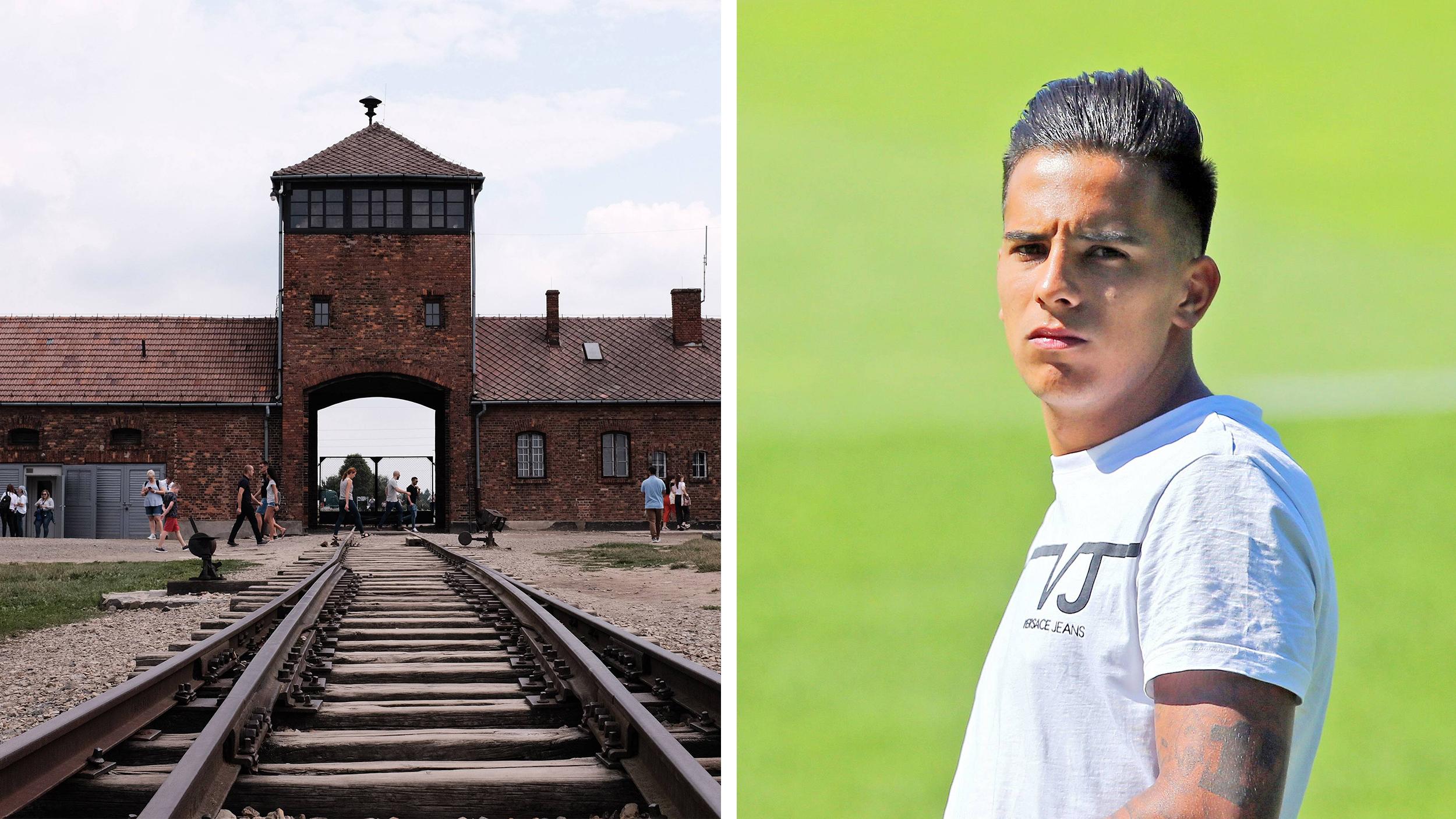 Frankfurt-Spieler knipst Partyfoto vor den Toren von Auschwitz - VICE