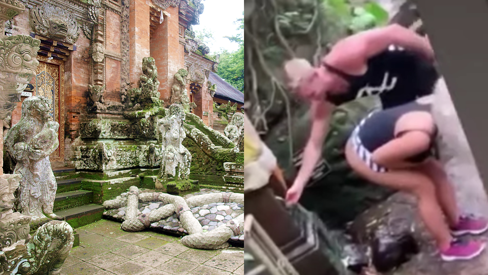 Fitness Influencer Washes Her Butt With Holy Water from Temple in Bali, Angers Locals