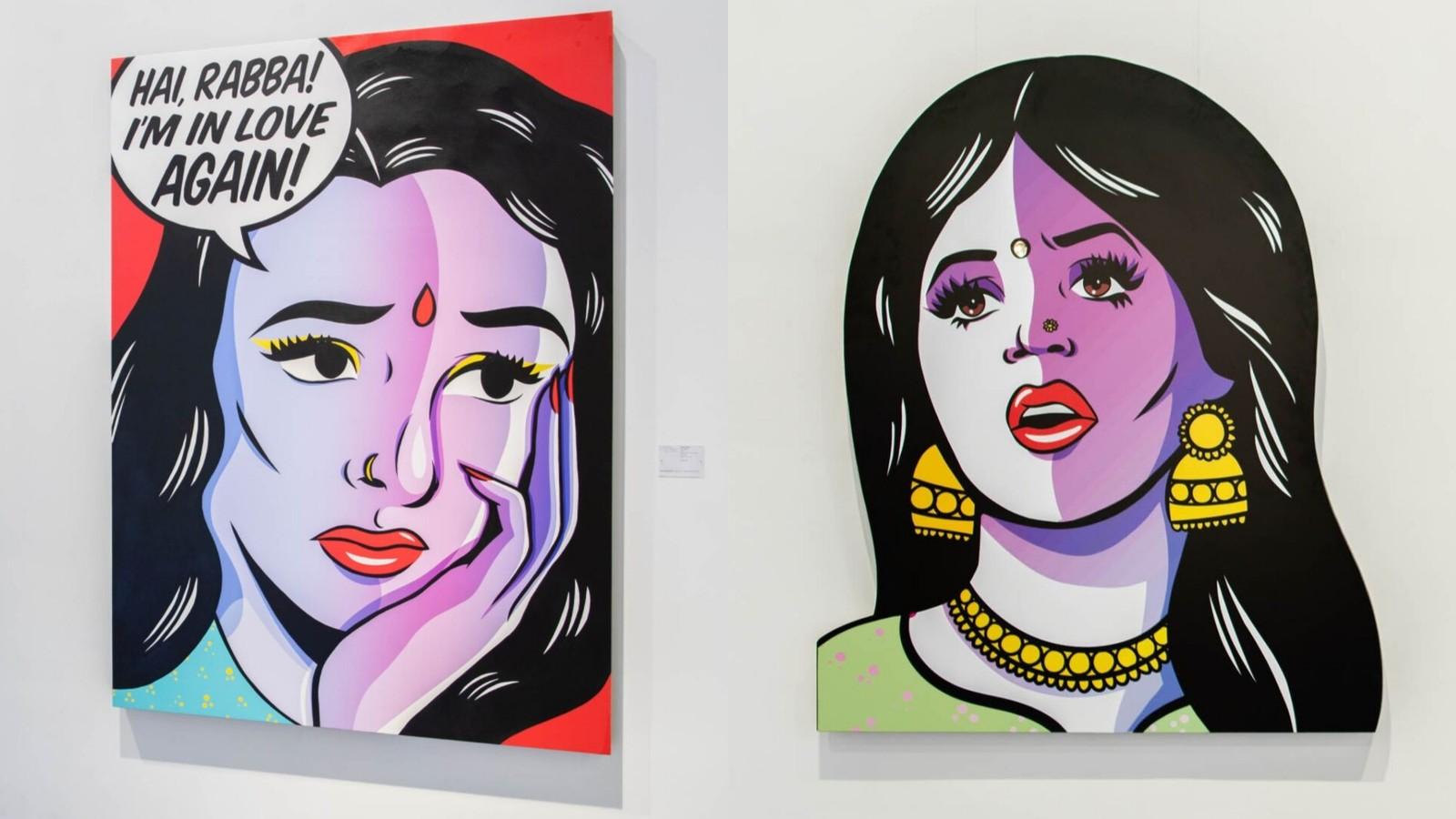 Maria Qamar Refuses to Keep Her Art a Secret Anymore