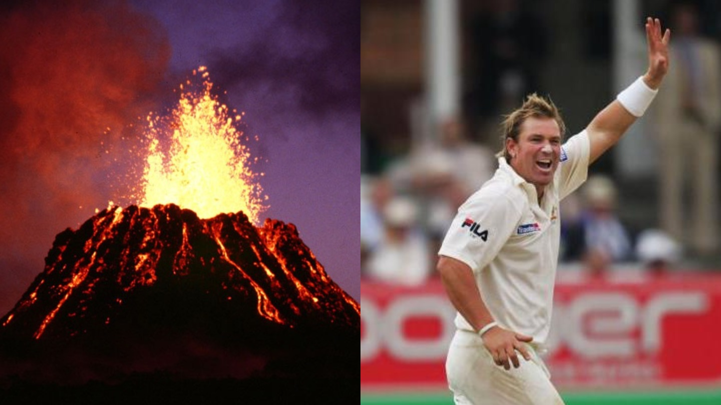 A Bunch of Australian Volcanoes Have Been Named after Shane Warne - VICE