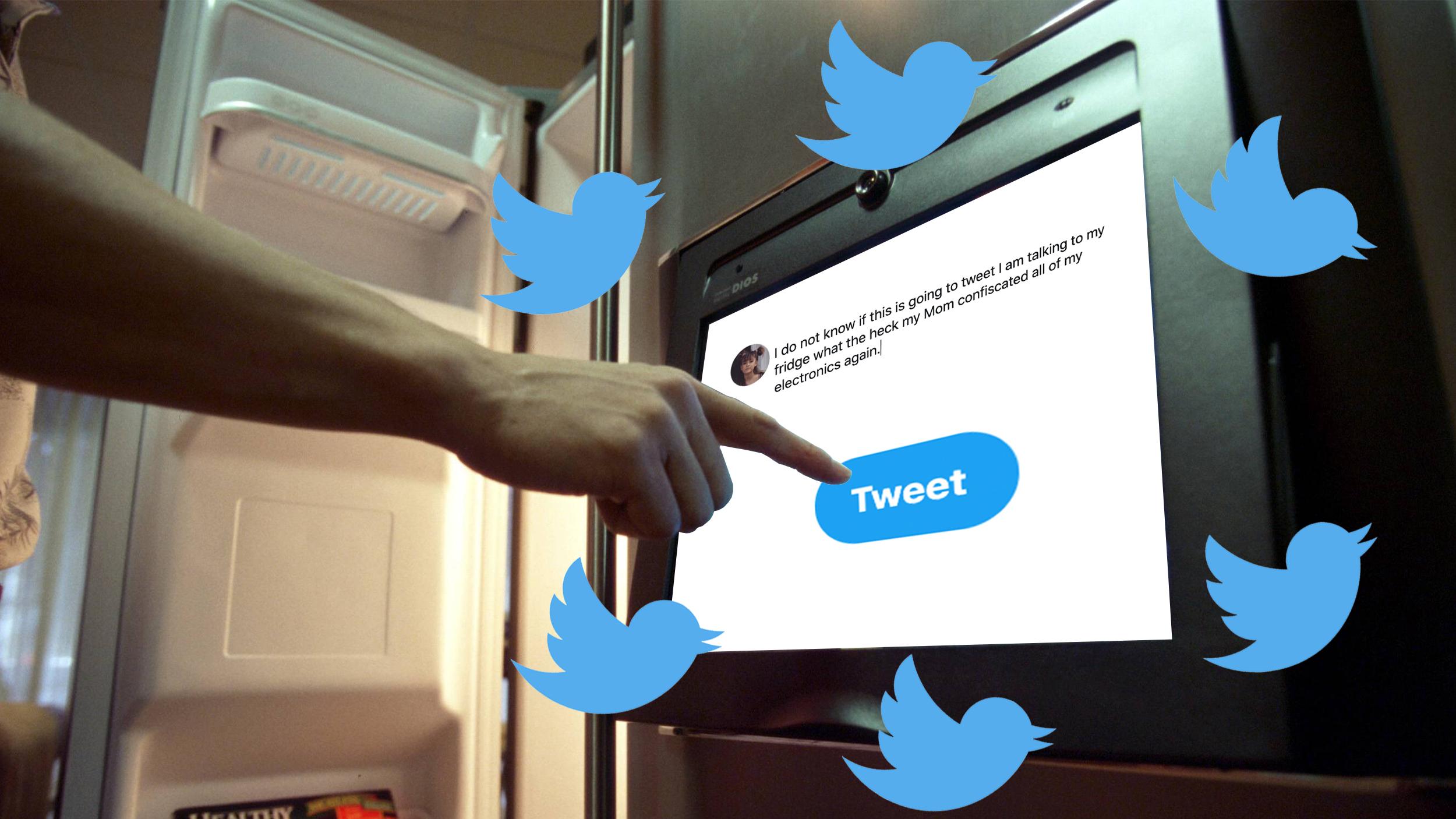 Diese Teenagerin hat Handyverbot, also twittert sie von ihrem Kühlschrank - VICE