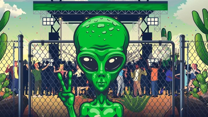 alienstock: the festival brought to you by the organisers of 'storm area 51