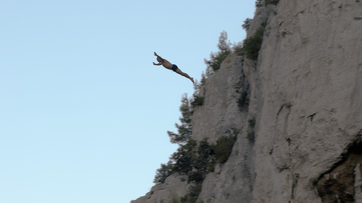 Watch France's Most Famous Cliff Diver Go For a New World Record