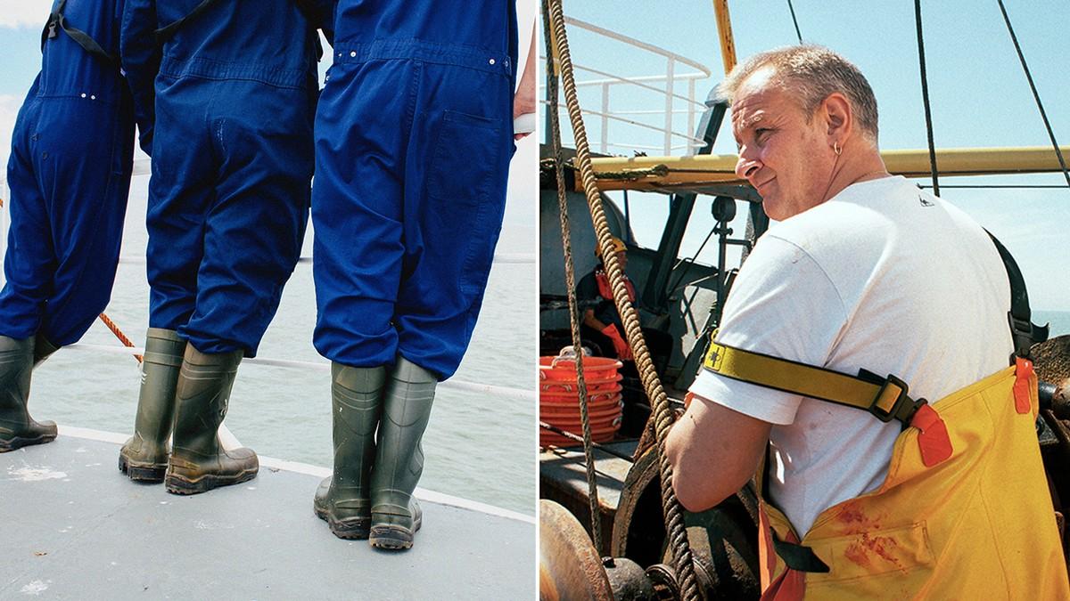 Cette photographe a embarqué avec les pêcheurs d'Ostende