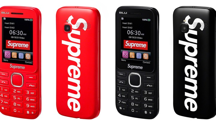 this supreme burner phone has us ready to delete all our apps