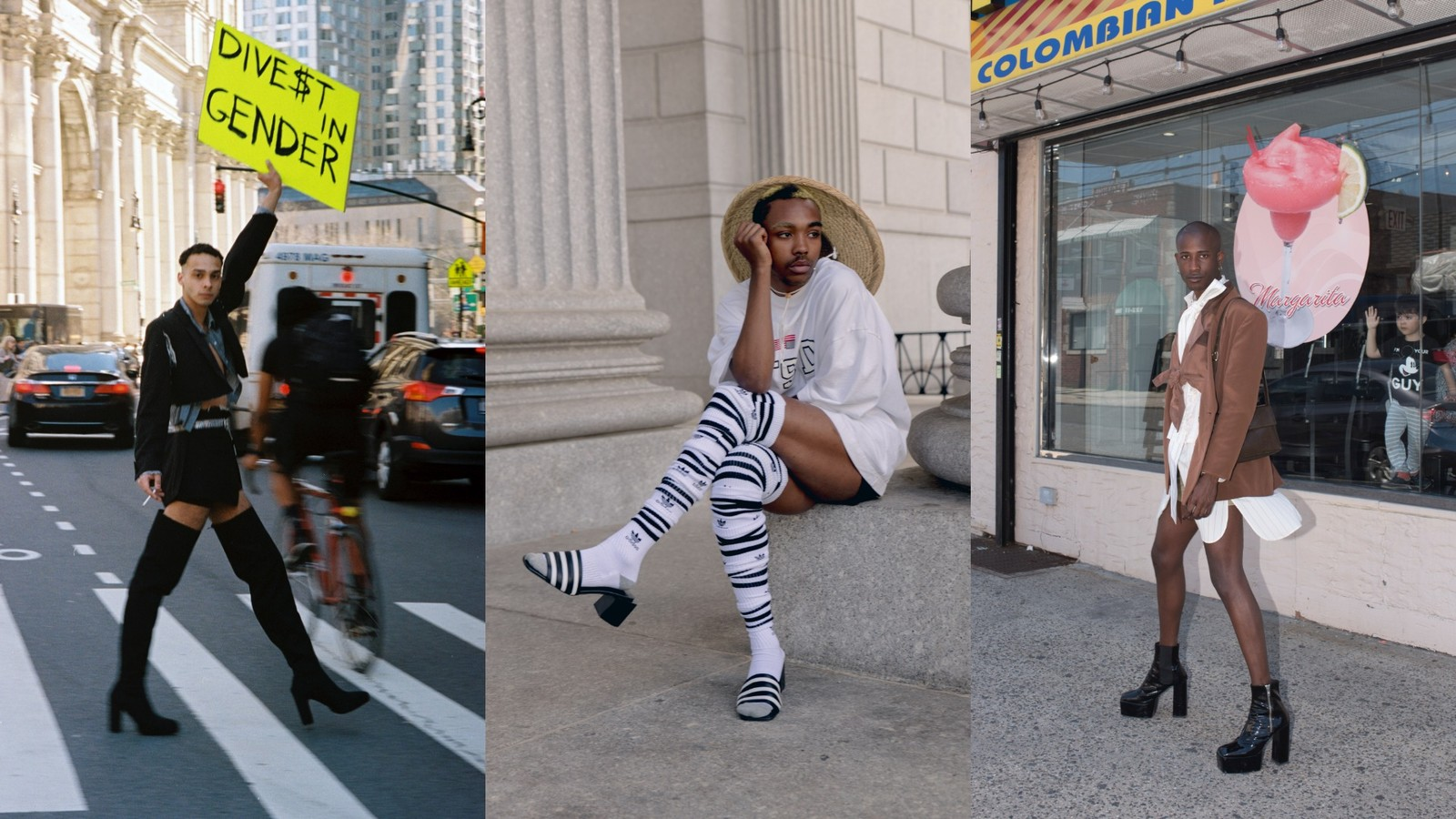 These Designers Want More Men in Heels