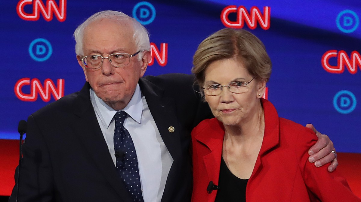 Sanders and Warren Left Sex Workers Out of Their Criminal Justice Plans