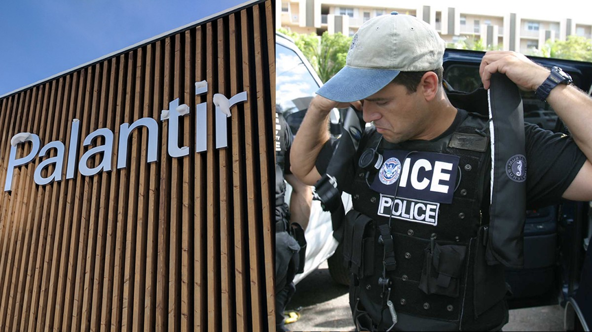 ICE Just Renewed Its Contract With Palantir