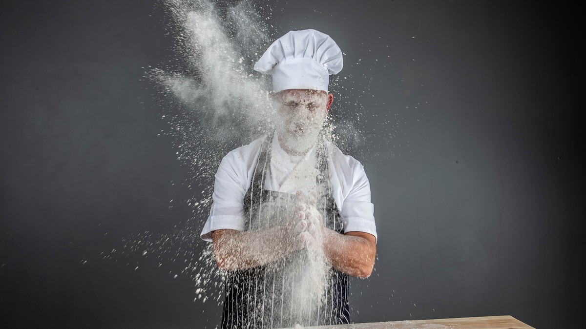 There's a Very Normal New Cooking Show Where Cannons Shoot Food in Chefs' Faces
