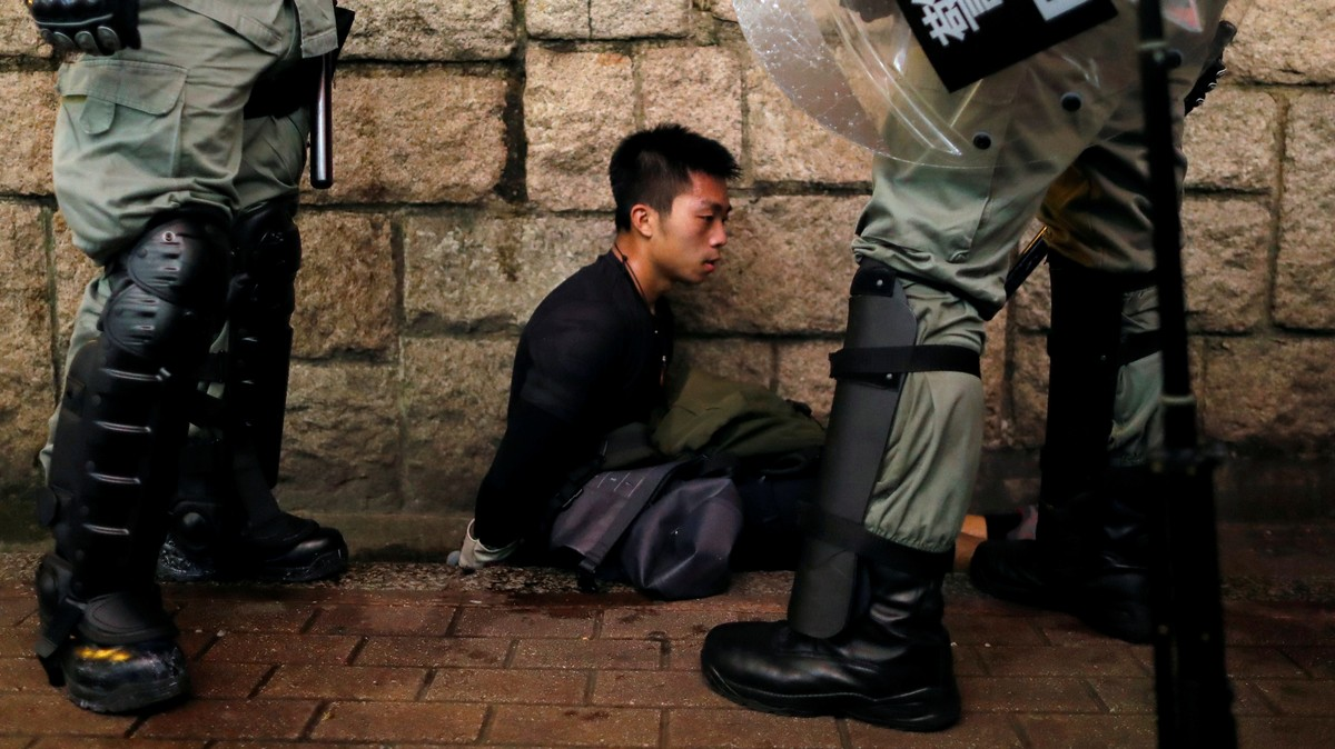 Chinese Broadcaster Uses Famous Holocaust Poem to Compare Hong Kong Protesters to Nazis