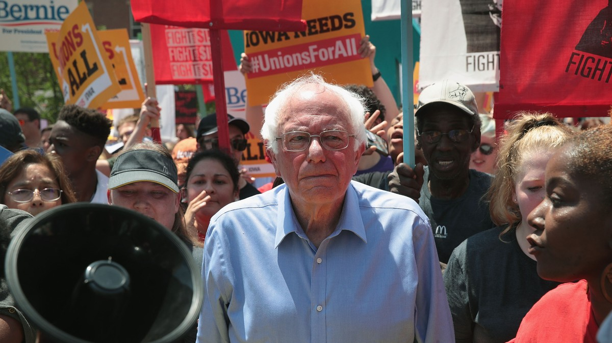 Bernie Sanders Just Released a Plan to Double Union Membership in His First Term