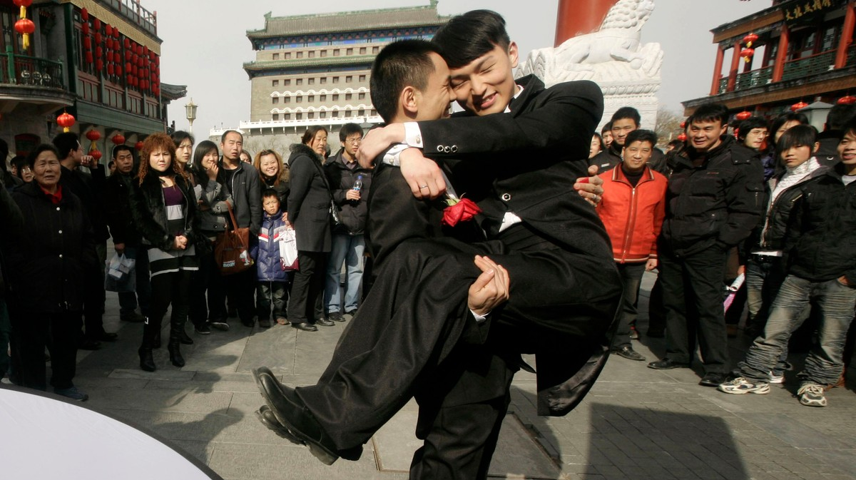 China Rejects Same-Sex Marriage, Says Only Heterosexual Unions 'Suit Country's Condition'