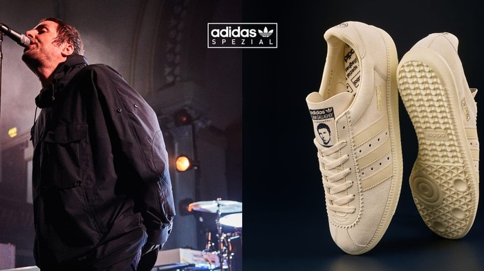 Call Your Brother A Potato In Liam Gallagher's New Adidas Sneakers