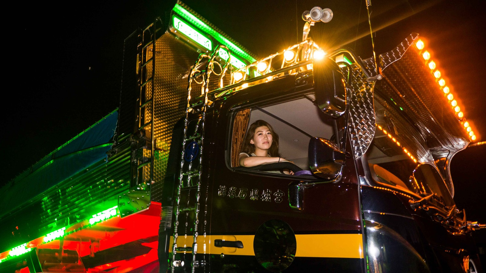 We Meet The Female Truck Driver Gaining Popularity in Japan