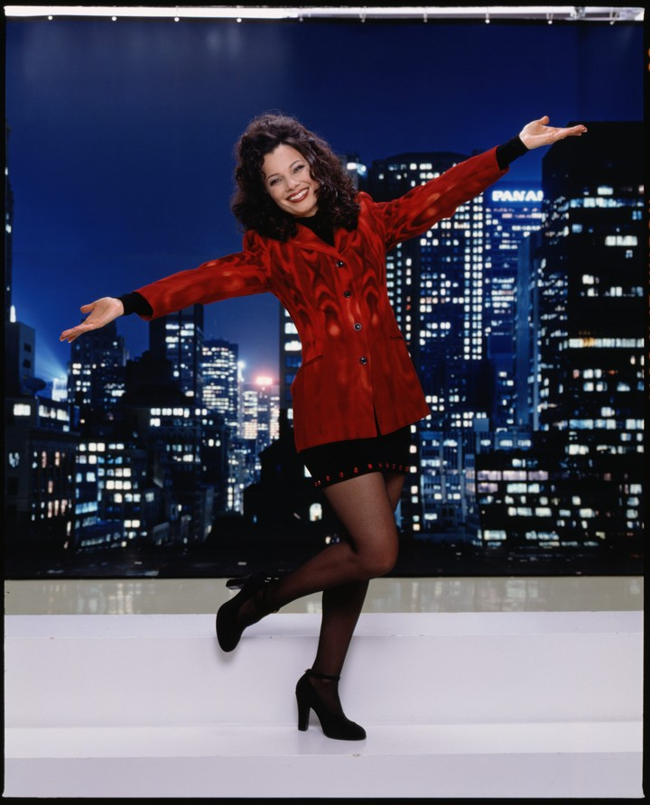 7 of fran drescher's most iconic outfits