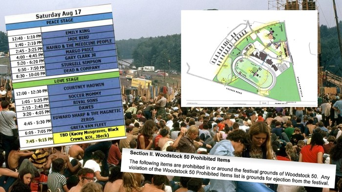 Exclusive: Documents Reveal Strange Details About Canceled Woodstock 50