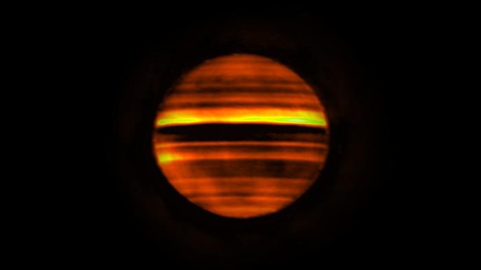 Une éruption énergétique a été observée sur Jupiter pour la première fois