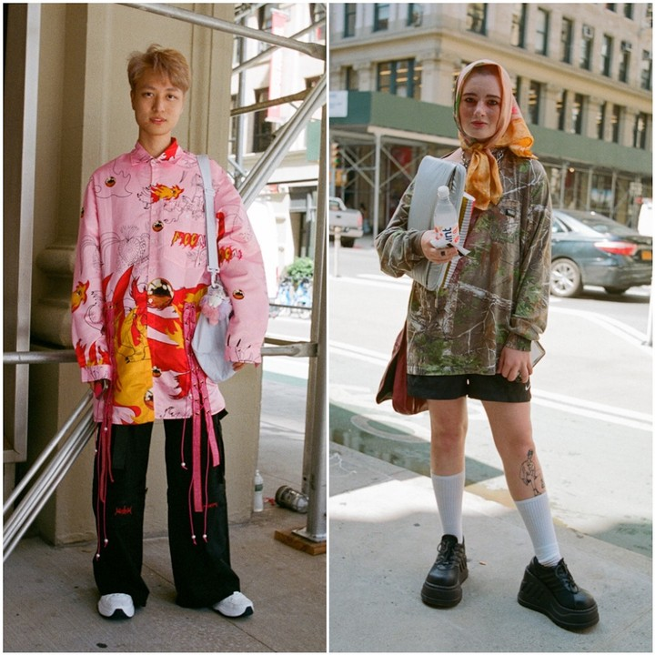 see how nyc students dressed for their first day of art school