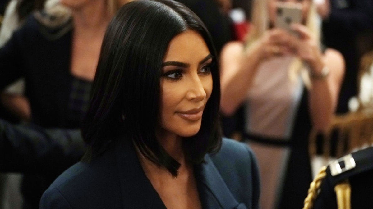 kim kardashian cum on her face