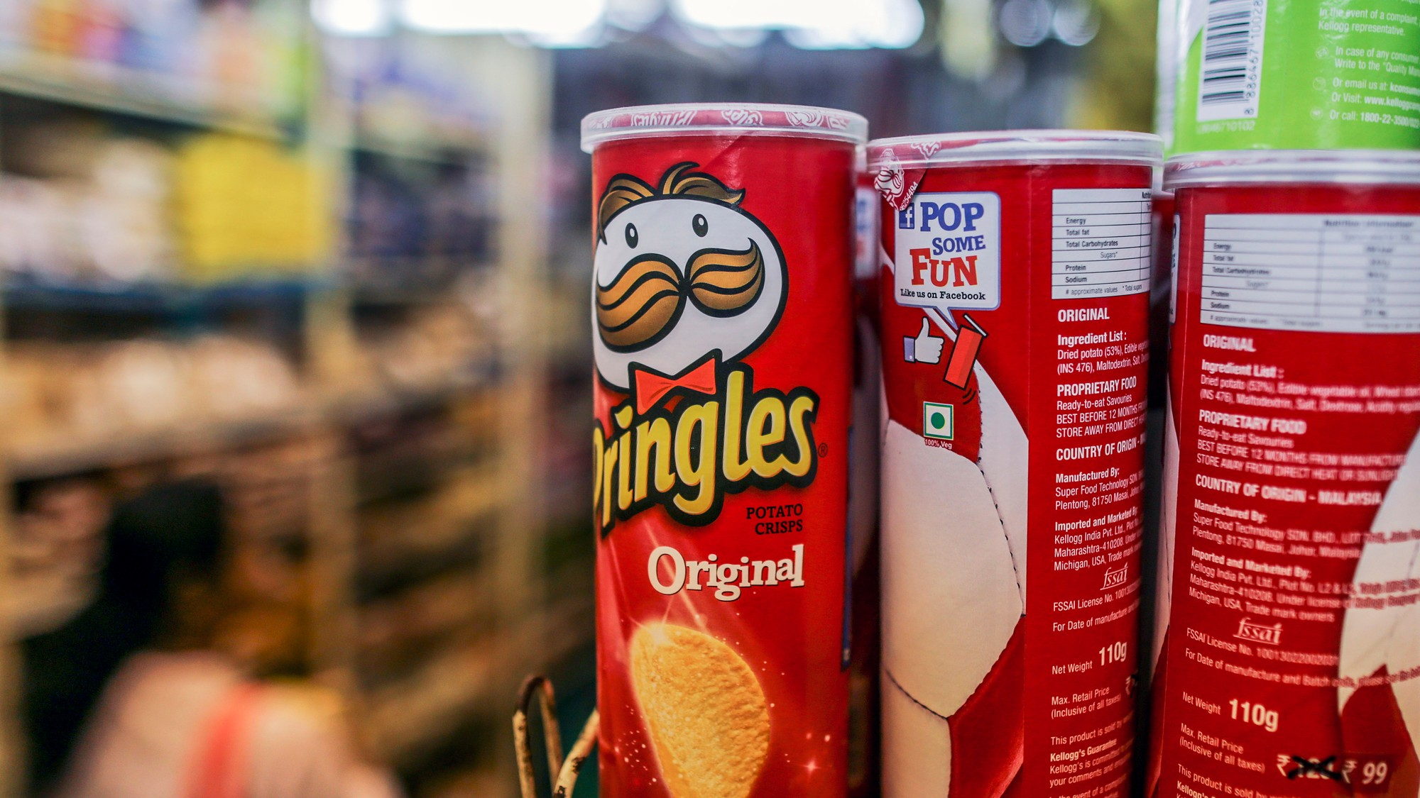 19-Year-Old Goes Blind Due to Diet of Pringles, Bread, Fries