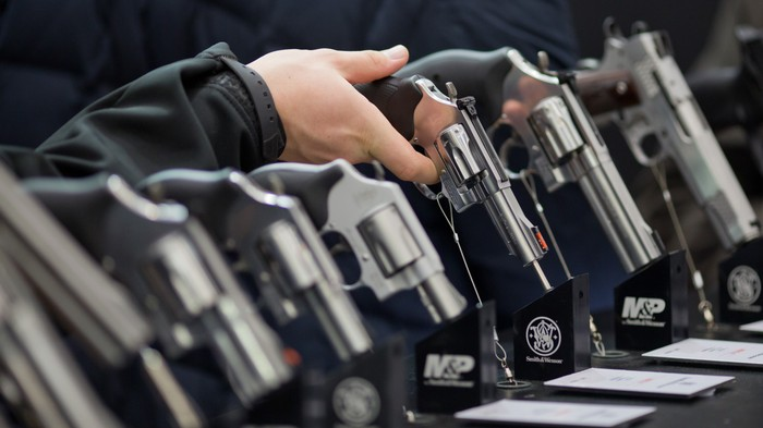 146 Firearms Were Confiscated From One Guy After Workplace Shooting Threat Triggered Maryland's 'Red Flag' Law