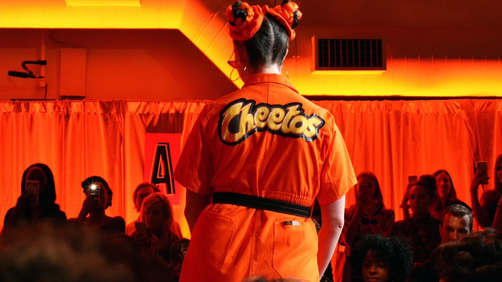 Inside the Dazzling, Incredibly Orange Cheetos Fashion Show