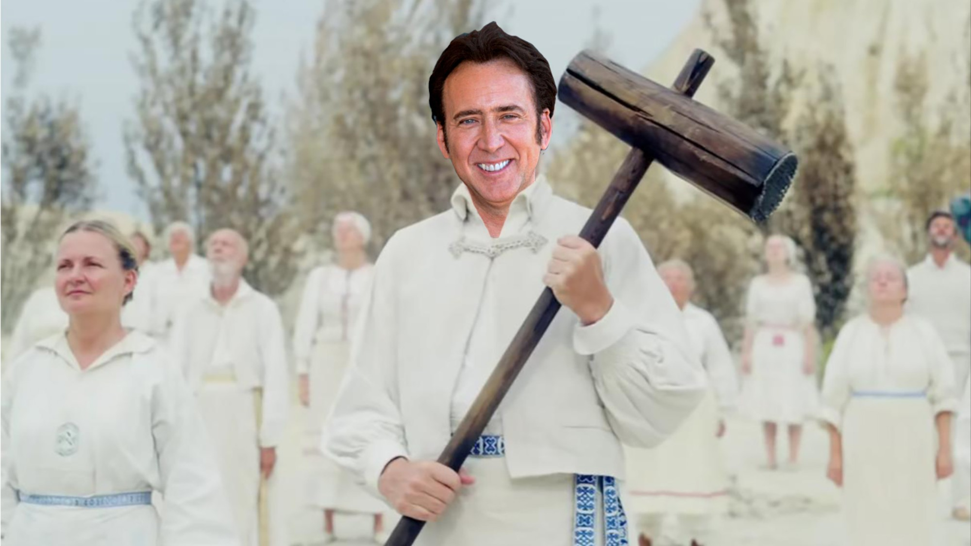 Nic Cage Wants to Make a Movie with 'Midsommar' Director Ari