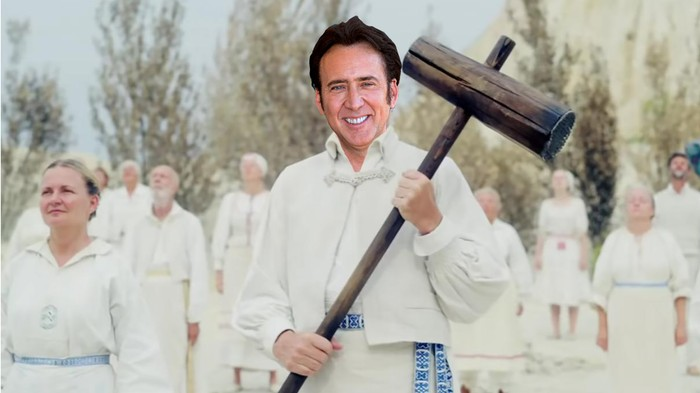 Nic Cage Wants to Make a Movie with 'Midsommar' Director Ari Aster