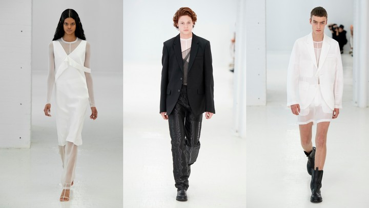 nathan westling closes the helmut lang show