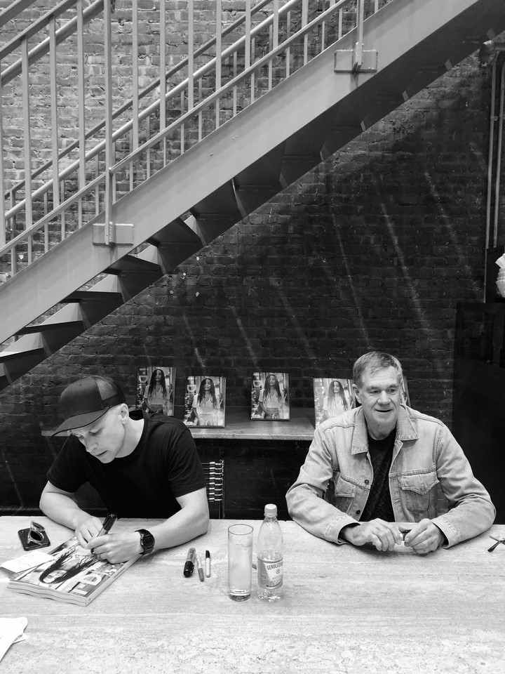 i-d mobs dsm for issue signing with alastair mckimm and gus van sant