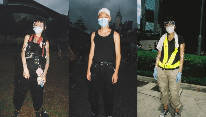 portraits of hong kong's young protestors