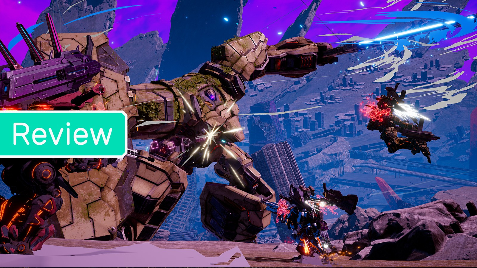'Daemon X Machina' Soars with Colorful and Dynamic Mecha Action