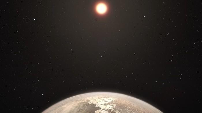 De la vapeur d'eau découverte sur une planète potentiellement habitable