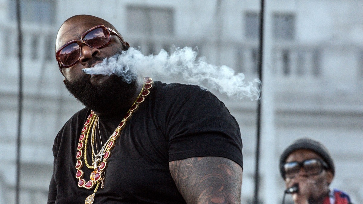 Rick Ross Got Extremely High With Bon Iver and Had No Idea Who He Was
