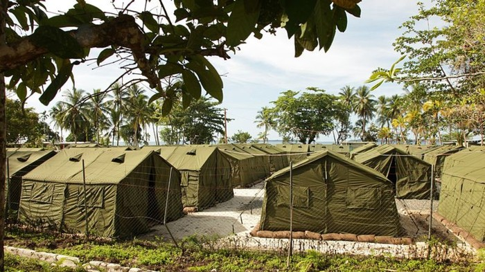 The Manus Island Detention Centre is Nearly Empty