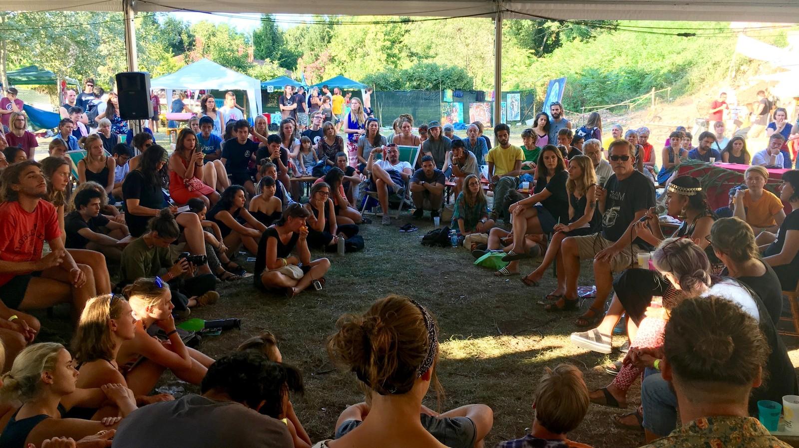 Siamo stati al Venice Climate Camp, il primo campeggio italiano sulla crisi climatica