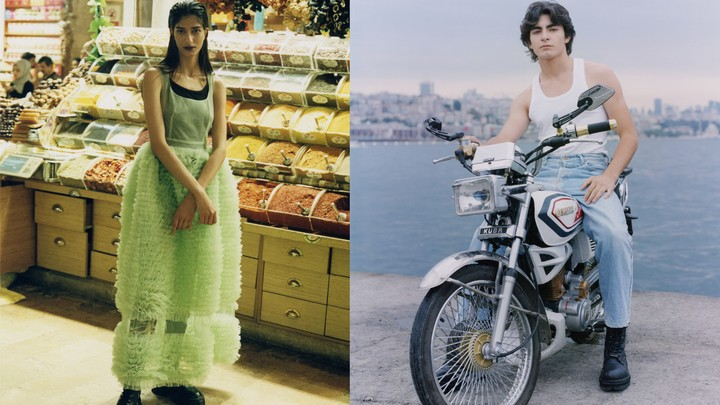 a celebration of modern beauty on the streets of istanbul