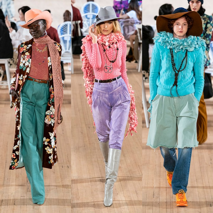 marc jacobs brings life to the runway