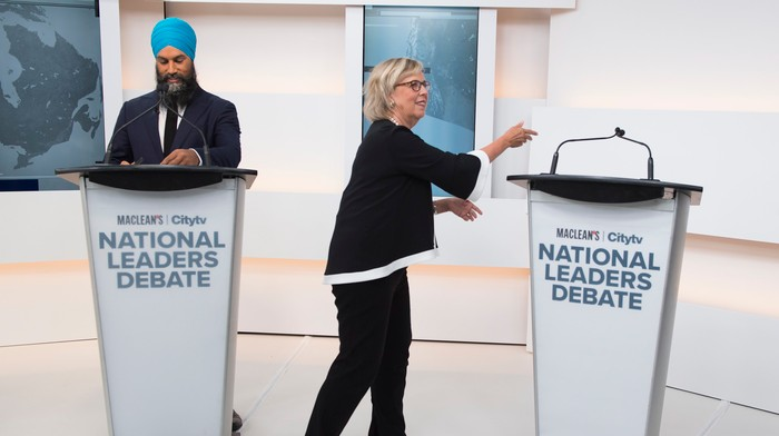 The Most Painfully Awkward Moments from Canada's First Election 2019 Debate