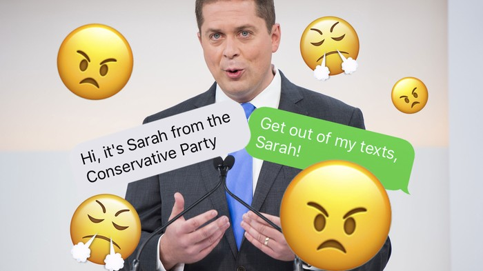 The Strategy Behind All Those 'Sarah From the Conservatives' Texts