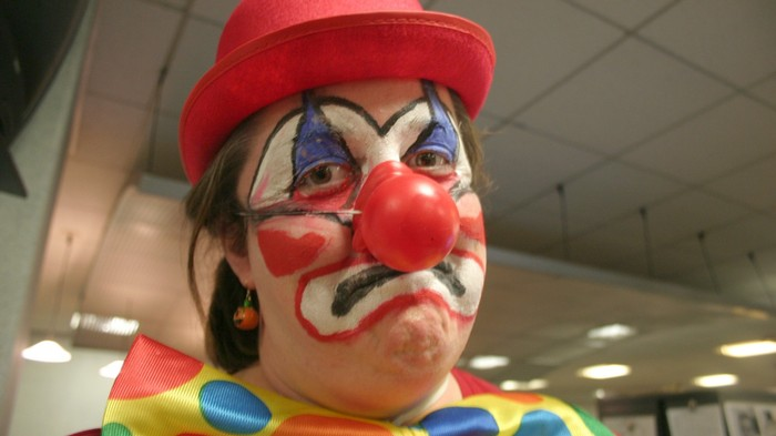 This Guy Knew He Was Getting Fired, so He Brought a Clown to the Meeting