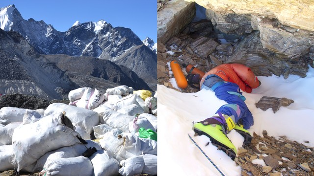 Everest is Melting, Revealing Tons of Garbage and Human Bodies