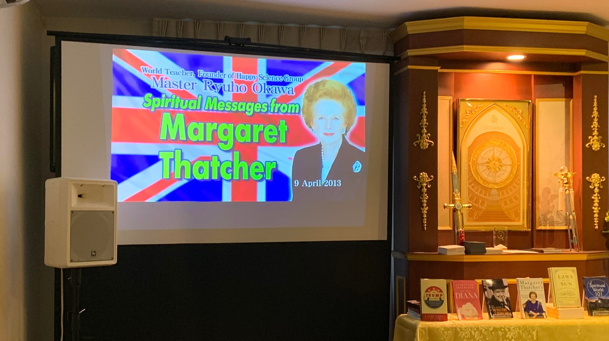 I Went to a Japanese Cult's Séance to Hear What Thatcher Thinks of Brexit