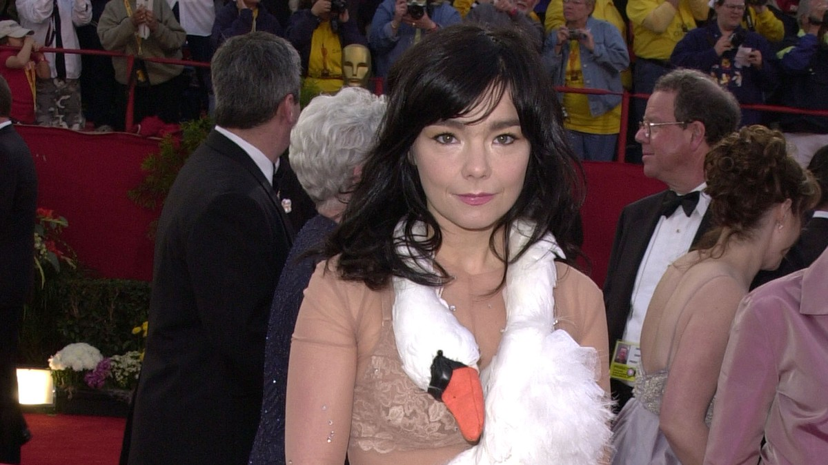7 of björk's most iconic outfits