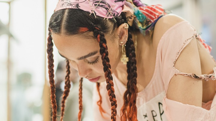 we had a party at dover street market with fka twigs and willy vanderperre